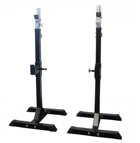 Adjustable Squat Stands – pair